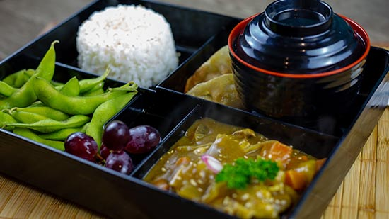 Curry Bento Takeaway